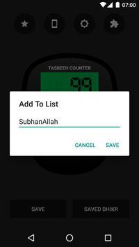 Digital Tasbeeh Counter screenshot 2