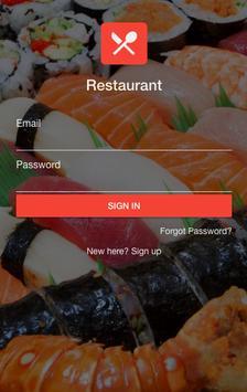 Food Customer poster