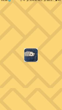 jeans wallet poster
