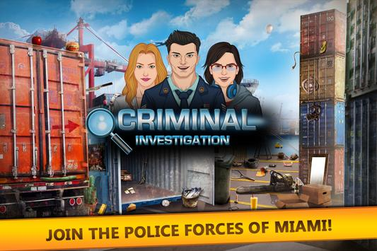 Criminal Investigation poster