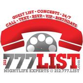 777LIST CONCERTS & NIGHTCLUBS icon