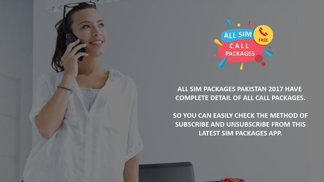 All Sim Call Packages poster