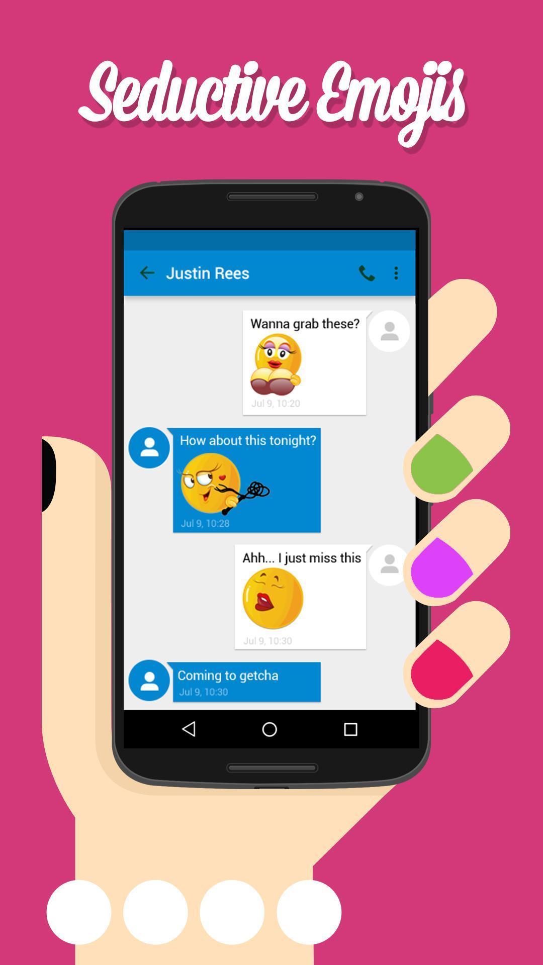 Whatsapp smileys versaute Sex Emojis