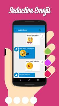 Adult XXX Emoji Sexy Emoticons screenshot 6