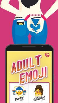 Adult XXX Emoji Sexy Emoticons poster