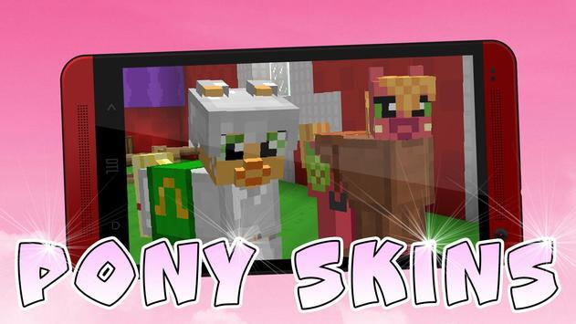 Cute Pony skins for Minecraft screenshot 1