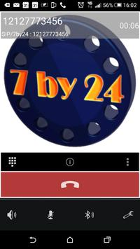7by24 Mobile screenshot 1