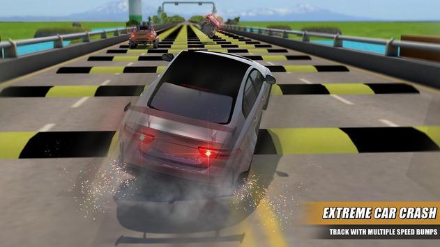 Speed Bump Car Crash Test Simulator screenshot 1