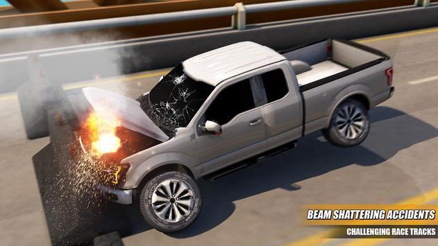 Speed Bump Car Crash Test Simulator screenshot 2
