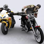 Traffic Moto Bike Attack Race icon