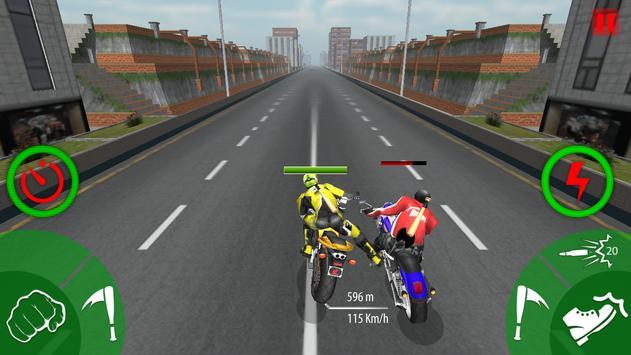 Traffic Moto Bike Attack Race poster