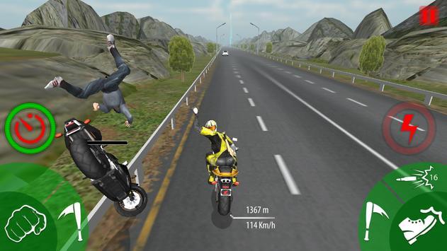 Traffic Moto Bike Attack Race apk screenshot