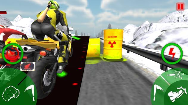 Traffic Moto Bike Attack Race screenshot 2