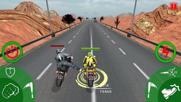 Traffic Moto Bike Attack Race screenshot 4