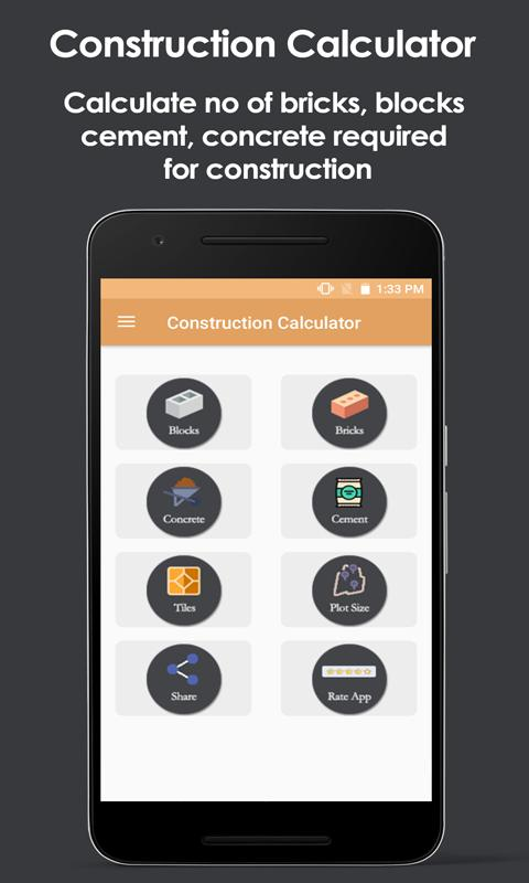 Construction calculator free v2: amazon. Ca: appstore for android.