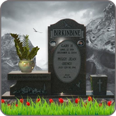 Tombstone Photo Editor – RIP Headstone Photo Maker icon