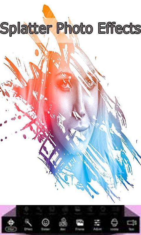 Paint Splatter Effects and Filters – Splatter Art for