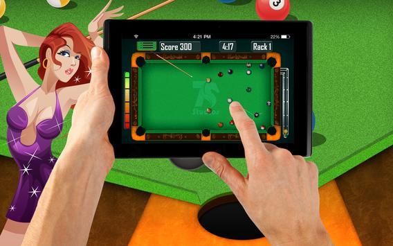 Amature Pool Game apk screenshot