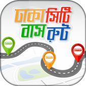 Dhaka City Bus Route icon