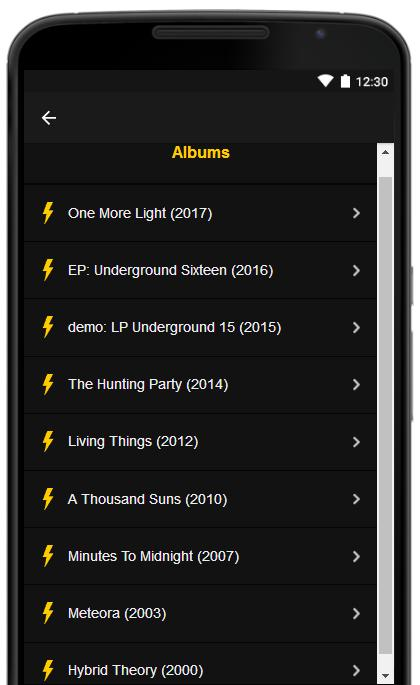 All Lyrics Of Linkin Park for Android - APK Download