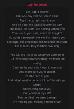 Sam Smith Lyrics apk screenshot
