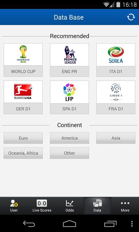 Match list