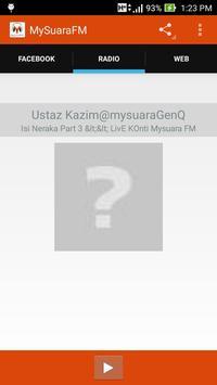 MySuara FM apk screenshot