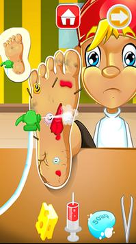 Scary Foot - Boy's Clinic apk screenshot