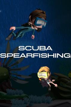 Scuba Spearfishing - Paradise poster