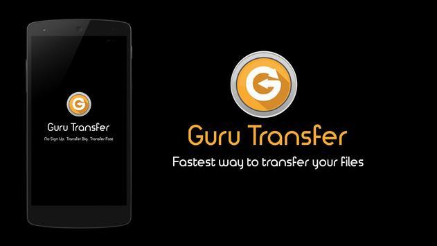 GuruTransfer: Send Large Files poster