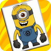 How to Draw Despicable Me icon
