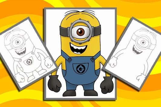How to Draw Despicable Me apk screenshot