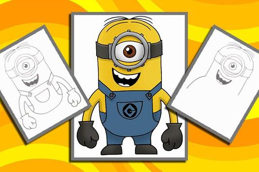 How to Draw Despicable Me poster
