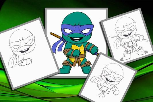 How to Draw Ninja Turtles 2 poster
