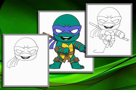 How to Draw Ninja Turtles 2 apk screenshot