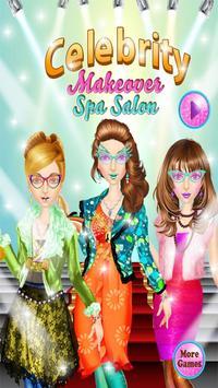Celebrity Makeover Spa Salon poster