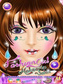 Fashion Girl Makeover Salon poster
