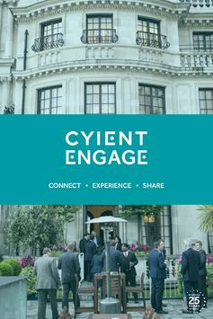 CYIENT Engage poster