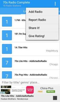70s Radio Complete apk screenshot