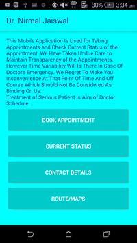 Dr. Nirmal Jaiswal apk screenshot