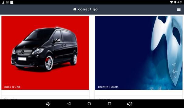 Conectigo Booking App apk screenshot