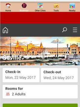 Seville Hotels apk screenshot