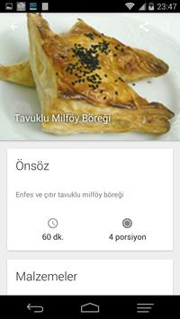 Damak Lezzeti Yemek Tarifleri apk screenshot