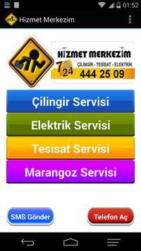 Hizmet Merkezim Teknik Servis poster