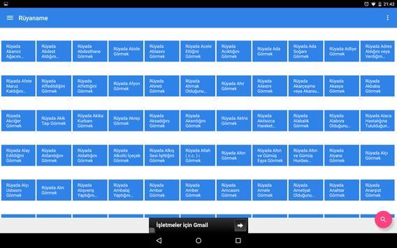 Rüyaname Rüya Tabirleri Arşivi apk screenshot