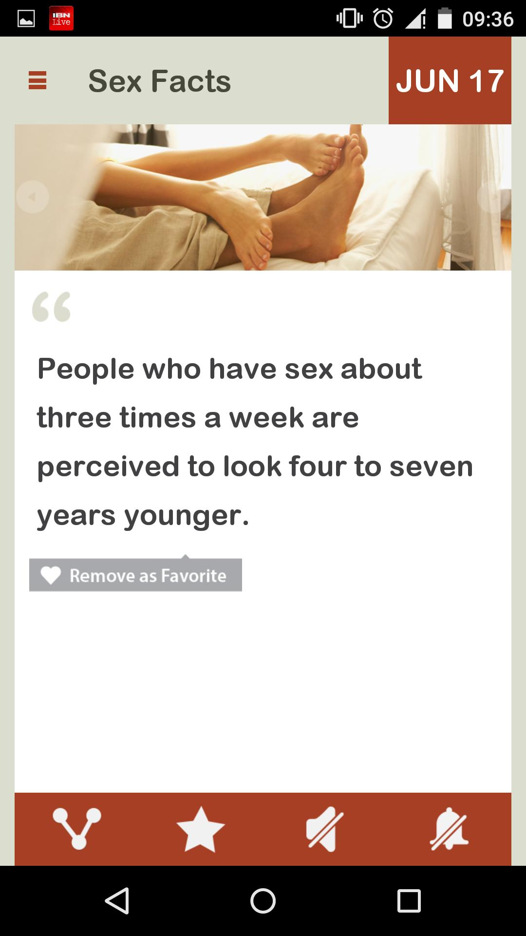 Facts of sex