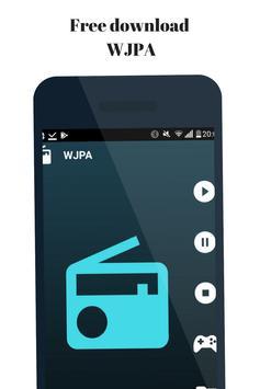 Radio for WJPA  Washington Pensilvania Station poster