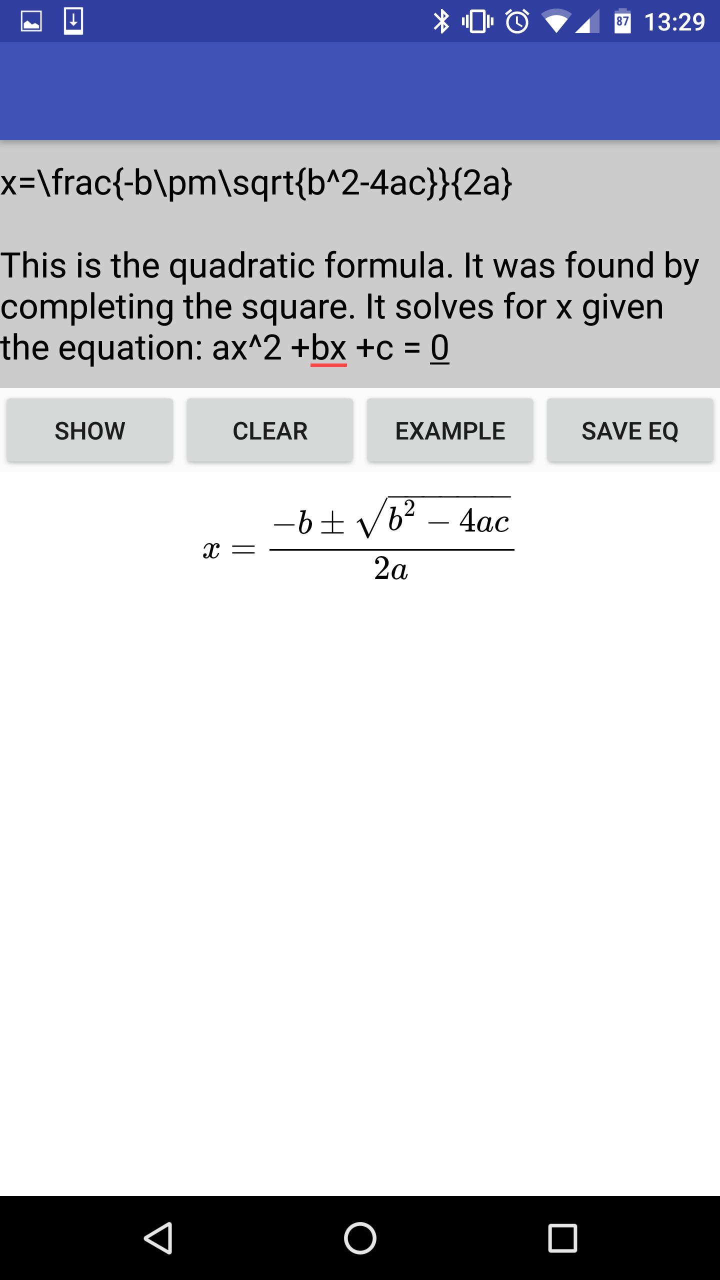 LaTeX Math FlashCards for Android - APK Download