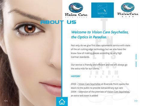 Vision Care Seychelles apk screenshot