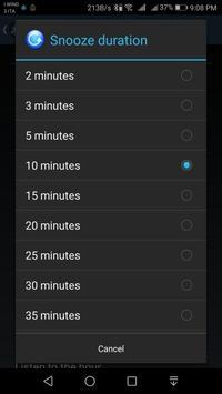 Speaking AlarmClock screenshot 3